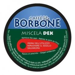 Capsule Borbone Caffè miscela DEK Compatibili con macchine a marchio Nescafé ®* Dolce Gusto ®*