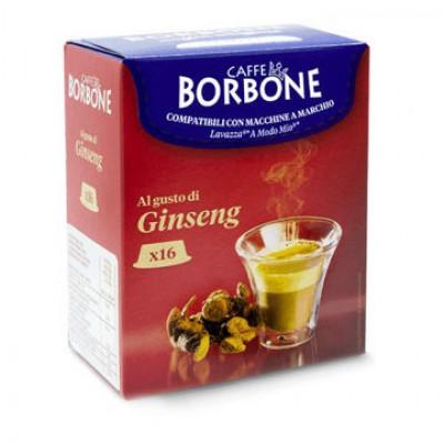 Capsule Borbone Caffè al gusto di Ginseng Compatibili con macchine a marchio Lavazza®* A Modo Mio ®*